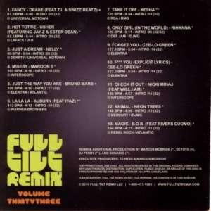 Various Artists - Full Tilt Remix Volume Thirty Three