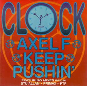 Clock Axel F - Keep Pushin'