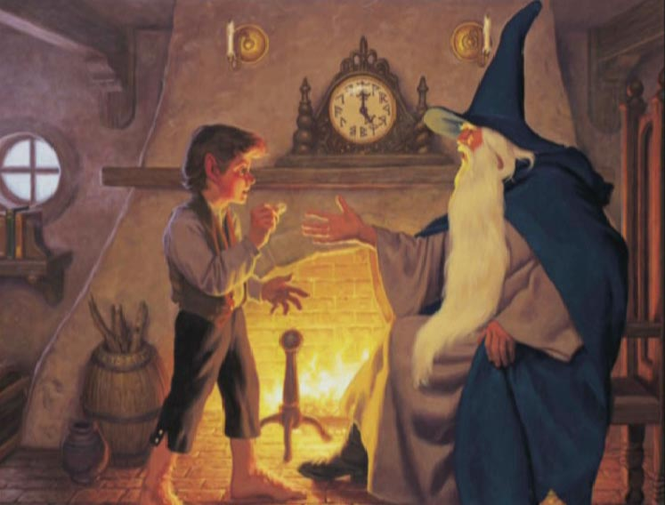 an analysis of the characters of gandalf and bilbo baggins in the book lord of the rings Complete order of lord of the rings books in publication order and chronological order  involvement of interesting characters like bilbo baggins, frodo baggins.